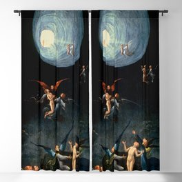 """Hieronymus Bosch """"Visions from the Hereafter - Ascend of the Blessed"""" Blackout Curtain"""