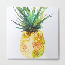 Pineapple Daiquiri Metal Print