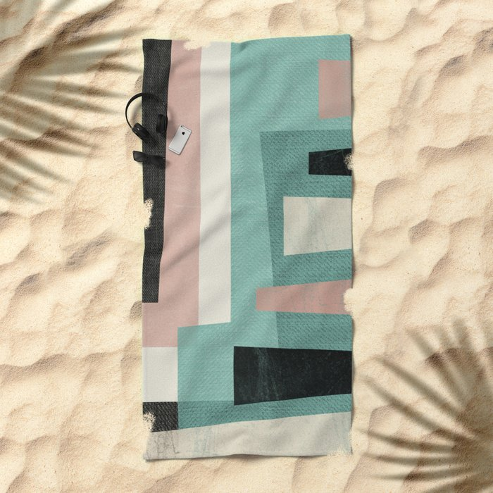 Minimalist Beach Towel