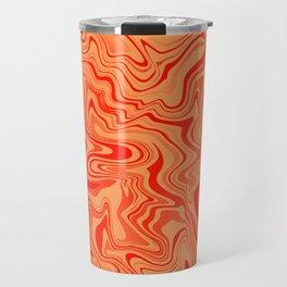 Magma Liquid Agate Travel Mug