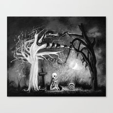 rest in expectation Canvas Print