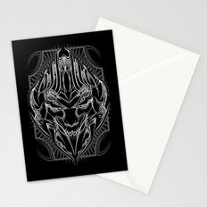 Pinstripe Megatron Stationery Cards
