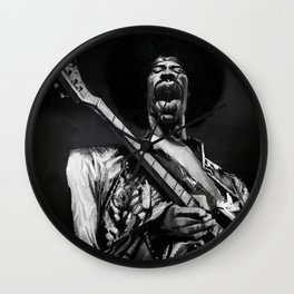 The Great Hendrix Wall Clock