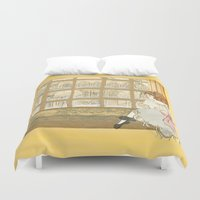 window Duvet Covers featuring Window by CHAR ODEN