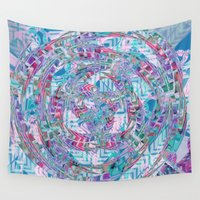 big bang Wall Tapestries featuring Big Bang, Harmony by 13Halliwell