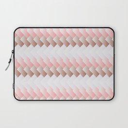 Pink Gradient Blocks Laptop Sleeve