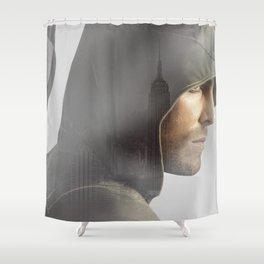 GREEN ARROW Shower Curtain