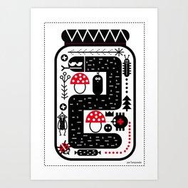 my compote Art Print