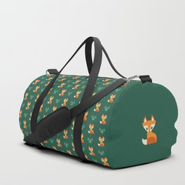 Geometric Foxes Duffle Bag