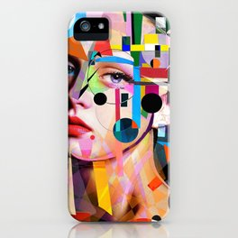 SHE LOVES COLORS iPhone Case