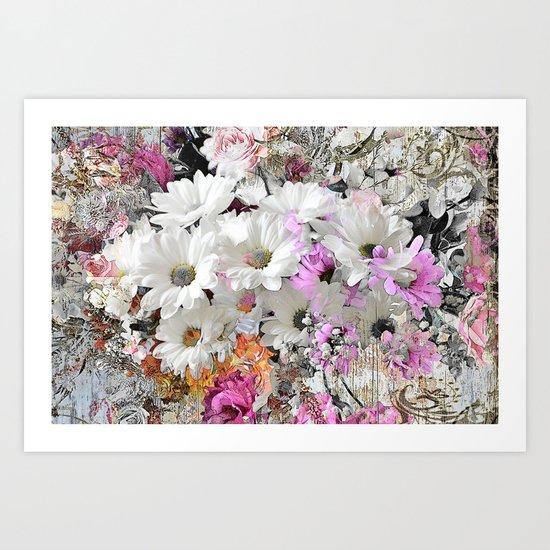 Free Floral Art Print