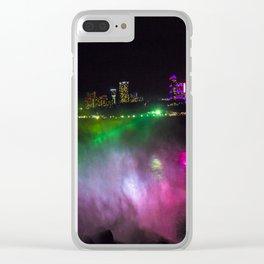 Niagara at Night Clear iPhone Case