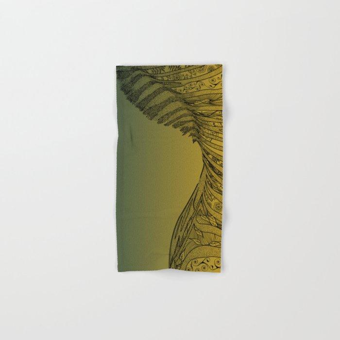 Zebra Design Hand & Bath Towel