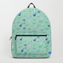 Tiny whales Backpack