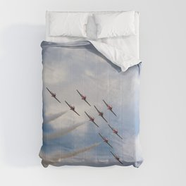 The Snowbirds in flight Comforters