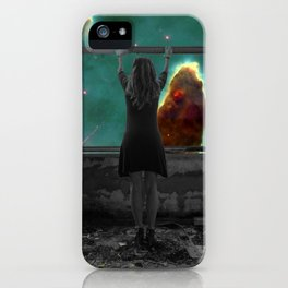 Window to Another World iPhone Case