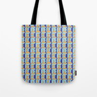 code Tote Bags featuring Coatl Code by Pamku