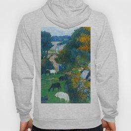 """Paul Gauguin """"La bergère bretonne (The Breton shepherdess)"""" Hoody"""