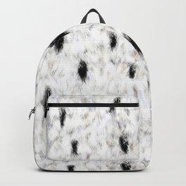 Little Princess — Faux Ermine Pattern Backpack