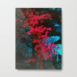 iDeal - Trippy Trees 01 Metal Print