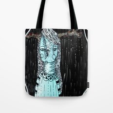 Raining Branches Tote Bag