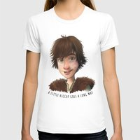 hiccup T-shirts featuring A little Hiccup goes a long way by Fla'Fla'
