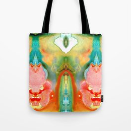The Goddess - Abstract Art By Sharon Cummings Tote Bag