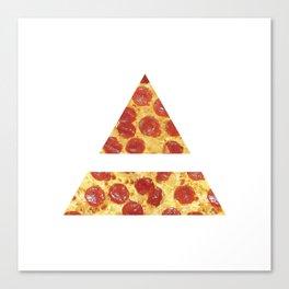 A Million Little Pizzas Canvas Print