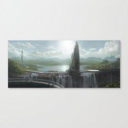 Elysium Falls Canvas Print