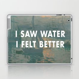 I Saw Water x French Sunrise Laptop & iPad Skin