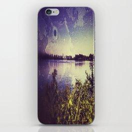 Surf lake Laupheim iPhone Skin