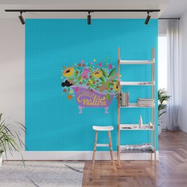 Soak Up On Nature Wall Mural