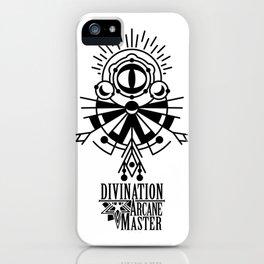 Divination Arcane Master iPhone Case