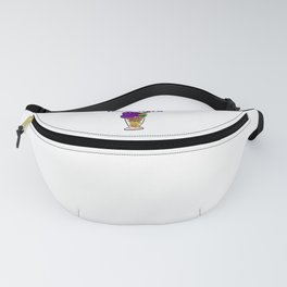 Halo-halo Filipino Popular Dessert With Shaved Ice Cool Design Gift Fanny Pack