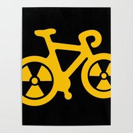 Radioactive Bicycle Poster