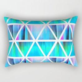 Evie Loves Triangles Rectangular Pillow