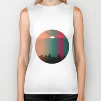 portugal Biker Tanks featuring Portugal Mountains by Joana Sa
