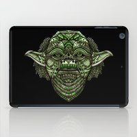 jedi iPad Cases featuring Aztec Jedi master Yoda iPhone 4 4s 5 5c 6, pillow case, mugs and tshirt by Greenlight8