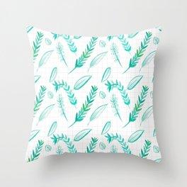Seedling | Brushed Throw Pillow