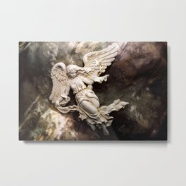 Ethereal Angel Art Metal Print