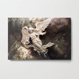 Ethereal Angel Art Metal Print