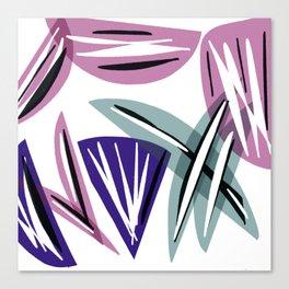 Wedges Block Party Canvas Print