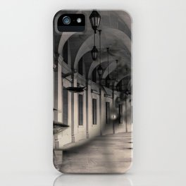 Arch girl iPhone Case