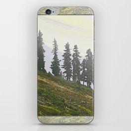 TIMBERLINE TREES iPhone Skin