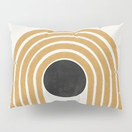Abstract Rainbow Graphic Pillow Sham