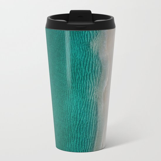 Fantastic Ocean Beach Metal Travel Mug