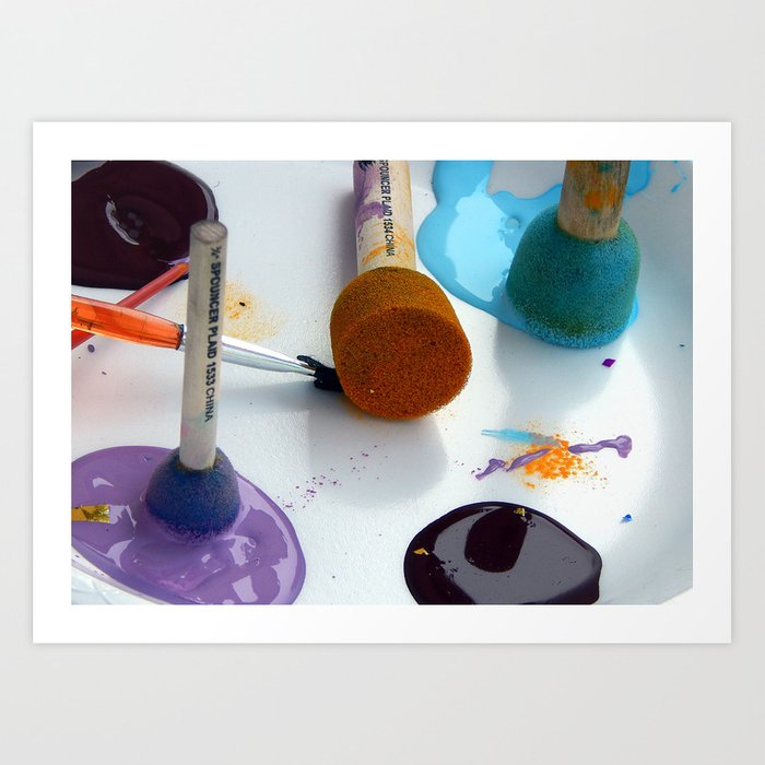 Painting Perfection Art Print