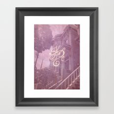 Sigil for a Happy Magical Household Framed Art Print
