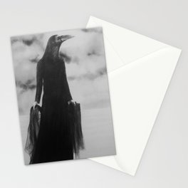 She rode her storm well Stationery Cards