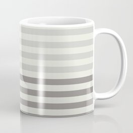 Minimal Half Stripes Coffee Mug